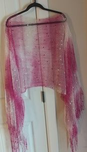 See thru pullover/coverup